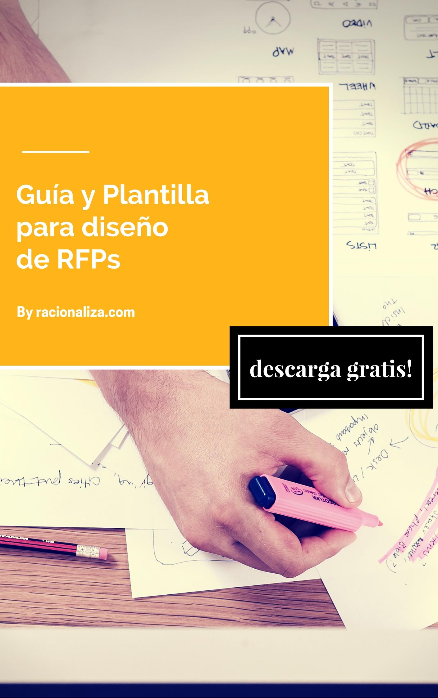 Diseño de RFP – Incluye una Guía y Plantilla.